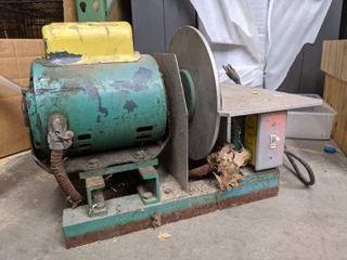 Motorized Grinder Sanding wheel