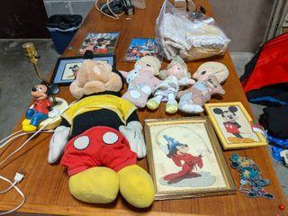 Disney And Precious Moments Memorabilia