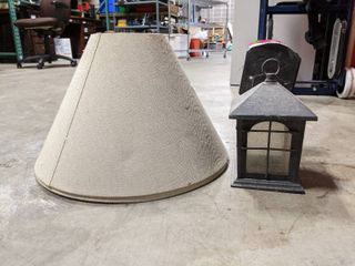 Outdoor light  And lamp Shade