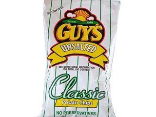lot of 5 Guys Snacks Guy s No Salt Potato Chips Exp  11 21 20