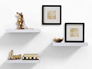 ZGZD   Wall Shelf   White
