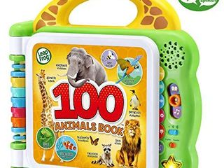 leapFrog 100 Animals Book  Green