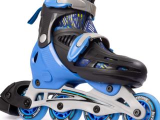 Bounce Adjustable Inline Skates For Kids   4 Wheel Blades Roller Skates F