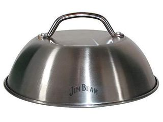 Jim Beam JB0181 9  Burger Cover and Cheese Melting Dome  Silver
