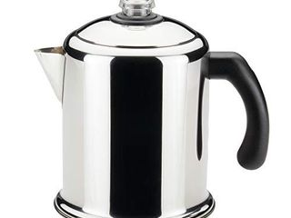 Farberware 50124 Classic Yosemite Stainless Steel Coffee Percolator   8 Cup  Silver