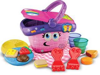 leapfrog Shapes And Sharing Picnic Basket  Pink