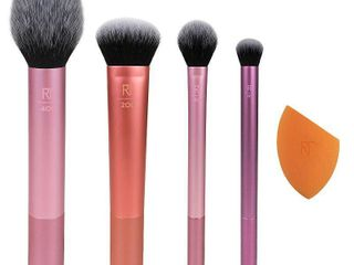 Real Techniques Everyday Essentials Makeup Brush Kit   5pc