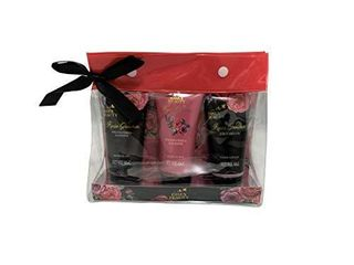 Set Of 3 Travel Size Body Care Kit  Essex Beauty Set Of Three Shower Gel  Body Scrub  And Hand lotion
