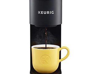 Keurig K Mini Coffee Maker  Single Serve K Cup Pod Coffee Brewer  6 to 12 oz  Brew Sizes  Black