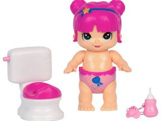 little live Bizzy Bubs Baby Play Set  Clever Chloe Potty Time