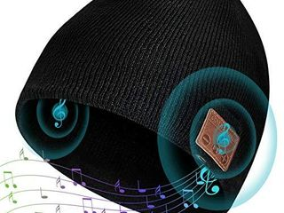 ColoFocus Bluetooth Beanie Hat for Men  Music Hat Men Hat Bluetooth Headphone Beanie Hat  Unisex Gift for Men Husband Teenagers Boys Dad  Christmas Sports Outdoor Gift