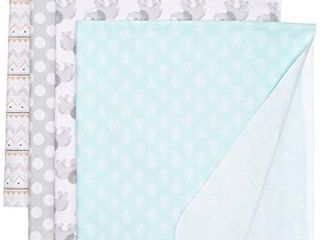 Hudson Baby Unisex Baby Cotton Flannel Receiving Blankets  Gray Elephant  One Size