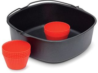 Philips Kitchen Appliances Master Accessory Kit with Baking Pan and Silicone Muffin Cups  XXl models  Black
