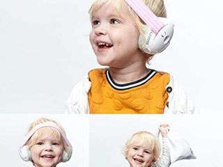 Alpine Muffy Baby Ear Protection for Newborn and Babies up to 36 Months Noise Reduction Earmuffs for Toddlers and Children Comfortable Infant Ear Muffs Prevent Hearing Damage   Improve Sleep  Pink