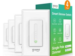 Gosuna Dimmer light Switch Works With Alexa