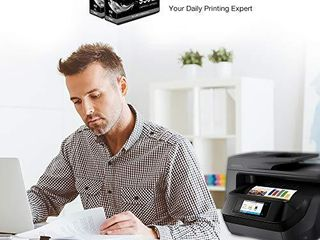 lxTek Compatible Ink Cartridge Replacement for HP 950 950Xl to use with OfficeJet PRO 8610 8600 8620 276dw 8630 251dw 8100 8615 8625 8640 8660 271dw Printer  High Yield  with Smart Chip  2 Black