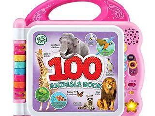 leapFrog 100 Animals Book  Frustration Free Packaging  Pink