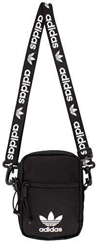 adidas Originals Festival Crossbody Bag  Black White  One Size