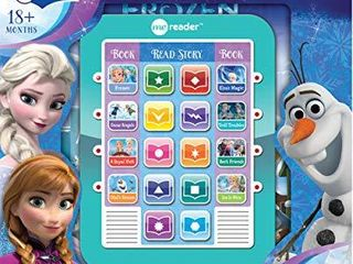 Disney Frozen Elsa  Anna  Olaf  and More    Me Reader Electronic Reader and 8 Sound Book library   PI Kids