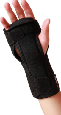 Night Wrist Sleep Support Brace   Fits Both Hands   Cushioned to Help With Carpal Tunnel and Relieve and Treat Wrist Pain  Adjustable  Fitted ComfyBrace