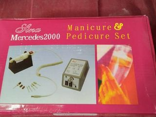 lina Mercedes 2000 Manicure Pedicure Set