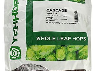 Cascade leaf Hops 1 Pound