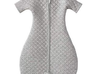 HAlO Easy Transition Sleepsack Wearable Blanket  Heather Grey  Medium