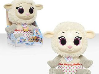 Disney Jr T O T S  Tickle   Toot Baby Sheera the Sheep   10 inch feature plush
