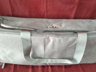 Bubm Duffle Bag  Sports Bag  Grey