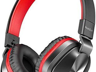 PeohZarr On Ear Headphones with Microphone  lightweight Folding Stereo Bass Headphones with 1 5M Tangle Free Cord  Portable Wired Headphones for Smartphone Tablet laptop Computer MP3 4