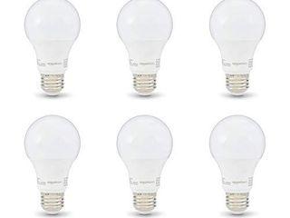 Amazon Basics 40W Equivalent  Soft White  Non Dimmable  10 000 Hour lifetime  A19 lED light Bulb   6 Pack