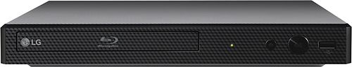 lG   Streaming Audio Wi Fi Built In Blu ray Player   Black