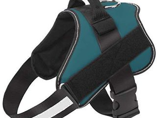 Bolux Dog Harness  No Pull Reflective Breathable Adjustable Pet Vest with Handle for Outdoor Walking   No More Pulling  Tugging or Choking