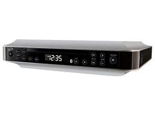 ilive   Bluetooth Under Cabinet Music System   Black