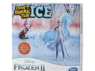 Hasbro Gaming Don t Break The Ice Disney Frozen 2 Edition Game for Kids Ages 3 and Up  Featuring Elsa and The Water Nokk  Amazon Exclusive