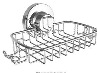 BATH AND BEYOND SOAP DISH RACK  CAN HOlD UP TO 11 POUNDS