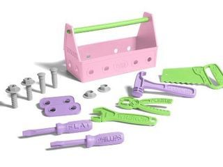 Green Toys Tool Set Pink  Assorted
