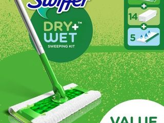 Swiffer Sweeper Starter Kit  1 Mop  19 Refills