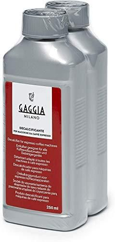 Gaggia Decalcifier Descaler Solution 250ml  2 Bottles