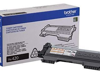 Brother TN 420 DCP 7060D IntelliFax 2840 2940 Hl 2220 2230 2240 Hl 2270 2275 MFC 7240 7360 7460 7860 Toner Cartridge  Black  in Retail Packaging