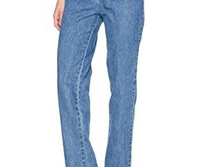 lee womens Relaxed Fit All Cotton Straight leg Jean aero cotton 16