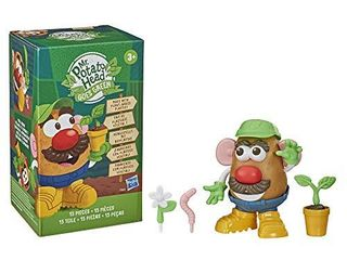 Mr Potato Head Goes Green Toy for Kids Ages 3 and Up  Made with Plant Based Plastic and FSC Certified Paper Packaging  Amazon Exclusive