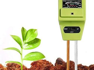 Swiser Soil Test Kit 3 in 1 Soil Tester with Moisture light and PH Meter  Indoor Outdoor Plants Care Soil Sensor for Home and Garden  Farm  Herbs   Gardening Tools No Battery Needed