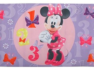 Disney Minnie Mouse Bowtique  Decorative Bath Mat  Pink