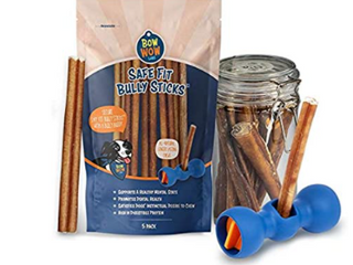Bow Wow labs Bully Buddy Starter Kit   Anti choking Bully Stick Safety Device