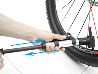 HIGH PRESSURE lANDING PORTABlE MOUNTAIN BIKE PUMP
