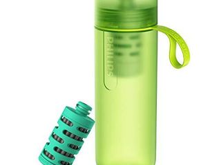 Philips GoZero Active Bottle  Squeeze Hydration Bottle  for Fresh Water Source Filtering