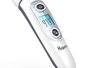 Medical Forehead and Ear Thermometer for Baby  Kids and Adults   Infrared Digital Thermometer with Fever Indicator