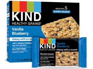 Kind VANIllA BlUEBERRY GRANOlA BARS  exp 1 14 2021