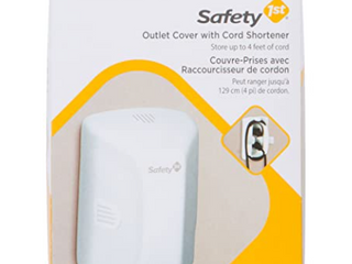 Safety First Outlet Cover  Cord Shortner